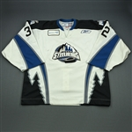 Beauchemin, Rejean<br>White Set 1<br>Idaho Steelheads 2009-10<br>#32 Size: 58G