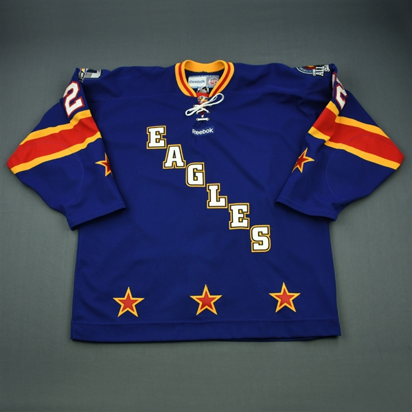 Strueby, Matt<br>Blue Skills Competition<br>ECHL All-Star 2012-13<br>#22 Size: 56