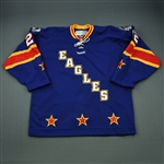 Strueby, Matt<br>Blue Skills Competition<br>All Star 2012-13<br>#22 Size: 56