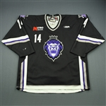 Cruthers, Ryan<br>Black Set 1<br>Reading Royals 2009-10<br>#14 Size: 56