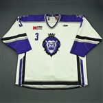 Lalonde, Rob<br>White Set 1 (A removed)<br>Reading Royals 2009-10<br>#3 Size: 58
