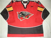 Henrich, Adam<br>Red Set 1<br>Cincinnati Cyclones 2009-10<br>#28 Size: 56