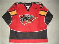 Kilpatrick, Jimmy<br>Red Set 1<br>Cincinnati Cyclones 2009-10<br>#19 Size: 54