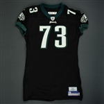 Andrews, Shawn<br>Black Alternate<br>Philadelphia Eagles 2006<br>#73 Size: 06-58 PBO
