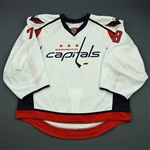 Anderson, Brandon<br>White Set 1 - Game-Issued (GI)<br>Washington Capitals 2012-13<br>#78 Size: 58G