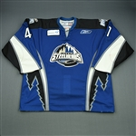 Bembridge, Garrett<br>Blue Set 1<br>Idaho Steelheads 2008-09<br>#41 Size: 56