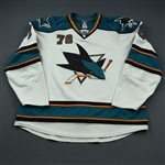 Ferriero, Benn * <br>White<br>San Jose Sharks 2009-11<br>#78 Size: 58