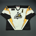 Adamek, Mark<br>White Set 1 w/A<br>Stockton Thunder 2008-09<br>#55 Size: 56