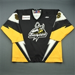 Chwedoruk, Justin<br>Black Set 1<br>Stockton Thunder 2008-09<br>#8 Size: 54