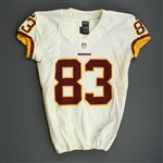 Davis, Fred<br>White - worn December 29, 2013 vs. New York Giants<br>Washington Redskins 2013<br>#83 Size: 42 SKILL