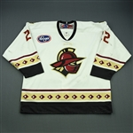 Galivan, Patrick<br>White Set 1<br>Gwinnett Gladiators 2009-10<br>#22 Size: 56