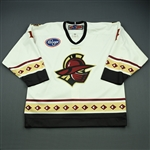 Hurley, Sean<br>White Set 1<br>Gwinnett Gladiators 2009-10<br>#4 Size: 54