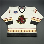 Mifsud, Scott<br>White Set 1<br>Gwinnett Gladiators 2009-10<br>#13 Size: 52
