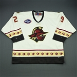 Siddall, Matt<br>White Set 1<br>Gwinnett Gladiators 2009-10<br>#29 Size: 56