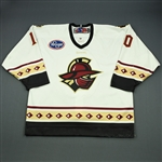 Zanoski, Tom<br>White Set 1<br>Gwinnett Gladiators 2009-10<br>#10 Size: 54