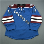 Downie, Steve<br>Third Set 1<br>Colorado Avalanche 2013-14<br>#17 Size: 54