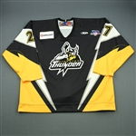 Rohlfs, David<br>Black Set 1<br>Stockton Thunder 2007-08<br>#27 Size: 58