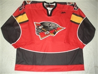 Foster, Brian<br>Red Set 1<br>Cincinnati Cyclones 2011-12<br>#29 Size: 58G