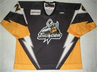 Kinley, Cleve<br>Black Set 1<br>Stockton Thunder 2008-09<br>#20 Size: 56