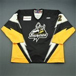 Petruic, Neil<br>Black Set 1<br>Stockton Thunder 2008-09<br>#2 Size: 56