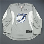 Reebok<br>Gray Practice Jersey<br>Tampa Bay Lightning 2009-10<br>#N/A Size: 56