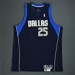 Dampier, Erick<br>Navy Preseason<br>Dallas Mavericks 2005-06<br>#25 Size: 54+4