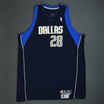 Mbenga, DJ<br>Navy Preseason<br>Dallas Mavericks 2005-06<br>#28 Size: 56+4