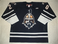 Kerbashian, Kale<br>Navy Set 1<br>Greenville Road Warriors 2011-12<br>#20 Size: 56