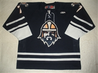 Klassen, Sam<br>Navy Set 1<br>Greenville Road Warriors 2011-12<br>#7 Size: 56