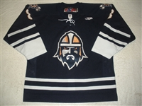 Prough, Jeff<br>Navy Set 1<br>Greenville Road Warriors 2011-12<br>#8 Size: 54