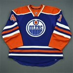 Acton, Will<br>Blue Retro Set 1, NHL Debut<br>Edmonton Oilers 2013-14<br>#41 Size: 56