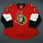 Foligno, Nick<br>Red Set 3 / Playoffs<br>Ottawa Senators 2009-10<br>#71 Size: 58