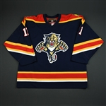 Samuelsson, Mikael * <br>Blue 3rd Regular Season<br>Florida Panthers 2003-04<br>#11 Size: 56