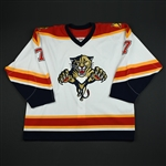 Trnka, Pavel * <br>White 3rd Regular Season<br>Florida Panthers 2003-04<br>#7 Size: 56