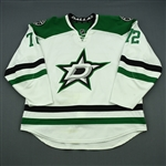 Cole, Erik<br>White Set 3 / Playoffs<br>Dallas Stars 2013-14<br>#72 Size: 58