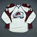 Durno, Chris<br>White Set 3<br>Colorado Avalanche 2009-10<br>#45 Size: 58