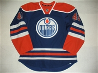 Acton, Will<br>Blue Retro Set 2<br>Edmonton Oilers 2013-14<br>#41 Size: 56