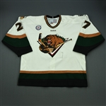 Howse, Ryan<br>White Set 1<br>Utah Grizzlies 2012-13<br>#27 Size: 58
