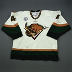 Martin, James<br>White Set 1<br>Utah Grizzlies 2012-13<br>#4 Size: 56