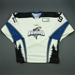 Cepis, Jacob<br>White Set 1<br>Idaho Steelheads 2011-12<br>#19 Size: 56