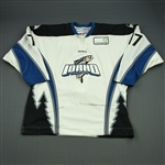Klassen, Chad<br>White Set 1 (A removed)<br>Idaho Steelheads 2011-12<br>#17 Size: 56