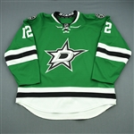 Chiasson, Alex<br>Green Set 1<br>Dallas Stars 2013-14<br>#12 Size: 58
