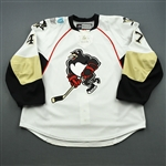 Despres, Simon * <br>White, worn on January 9, 2013<br>Wilkes-Barre Scranton Penguins 2012-13<br>#47 Size: 58