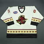 Fleming, Scott<br>White Set 1<br>Gwinnett Gladiators 2011-12<br>#10 Size: 54