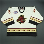 Sauer, Billy<br>White Set 1<br>Gwinnett Gladiators 2011-12<br>#29 Size: 58G