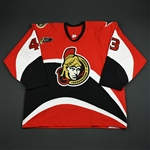 Payer, Serge * <br>Red Preseason / Regular Season<br>Ottawa Senators 2003-04<br>#43 Size: 58