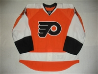 Bordson, Rob<br>Orange Set 1 - Game-Issued (GI)<br>Philadelphia Flyers 2013-14<br>#65 Size: 56