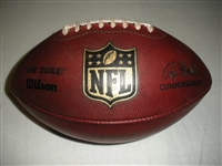 Game-Used Football<br>Game-Used Football from November 3, 2013 at Washington<br>San Diego Chargers 2013