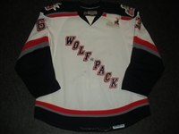Ford, Matthew<br>White Set 2<br>Hartford Wolf Pack 2008-09<br>#63 Size: 56