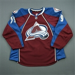 Cheek, Trevor<br>Burgundy Set 1 - Game-Issued (GI)<br>Colorado Avalanche 2013-14<br>#39 Size: 58